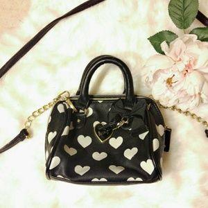 💕 Betsey Johnson Bag w/ removable strap